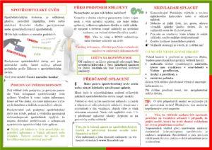 Letáček Spotřebitelský úvěr 2017 2. strana